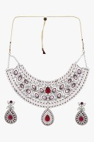 Sia Art Jewellery Silver Plated Alloy Necklace Set