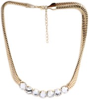 Shining Diva Statement Necklace Alloy Necklace