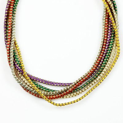 Vinnis Style Diva Fabric, Alloy Necklace