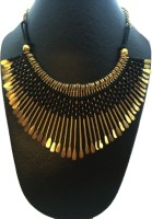 The Onyx Label Alloy Necklace - NKCEBKM2RVCADWGS