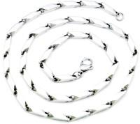 Vaishnavi Silver Stainless Steel Chain