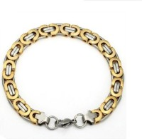 AVN JEWELLERS 22K White Gold, 22K Yellow Gold Plated Brass Chain