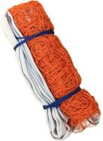 Sahni Sports Nylon Volleyball Net (White, Orange)