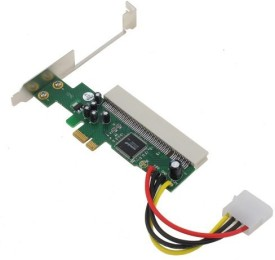 Wiretech ASM 1083 PCI Express to PCI Adapter Network Interface Card