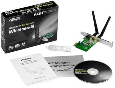 Asus PCE N15 Wireless N300 PCI Express Adapter