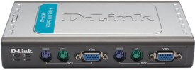 D-Link Dkvm-4k 4-Port Network Switch