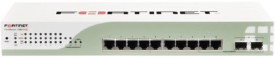Fortinet FortiSwitch 80-POE 8 Port 10/100/1000 IEEE 802.3af PoE 62W Dedicated Power Share on 4 Ports F Network Switch