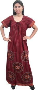 Indiatrendzs Women's Nighty: Night Dress Nighty