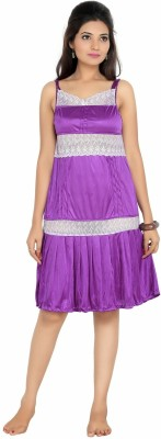 Myra Myra Women's Nighty (Violet)