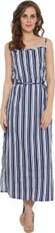 The Beach Company Women's Maxi Blue Dress