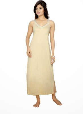 Myra Myra Women's Night Dress (Beige\/Sand\/Tan)