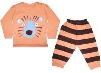 Mini Taurus Baby Boy's Animal Print Top & Pyjama Set