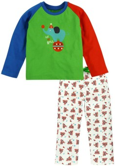 Snuggles Boy's Printed Top & Pyjama Set - NSTE76F7P5FUQP6G