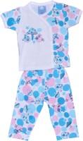 Johny Johny Yes Papa Baby Boy's, Baby Girl's Self Design Top & Pyjama Set