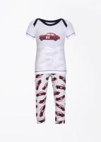 Claesens Baby Boy's, Baby Girl's Baby Girl's Printed T-shirt And Pyjama Set