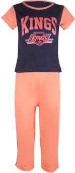 Jazzup Classy Vest Boy's Printed Top & Pyjama Set