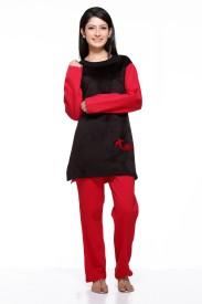 Dove Women's Printed Top & Pyjama Set