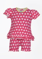 Claesens Baby Girl's, Baby Boy's Baby Boy's, Baby Girl's Printed Top And Bloomer Set