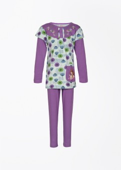 Proteens Girl's Printed Top And Pant Set