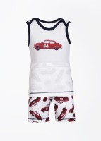 Claesens Baby Boy's, Baby Girl's Baby Girl's Printed T-Shirt And Shorts Set - NSTDVX4GGWXSFCEE