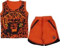 Mini Taurus Baby Boy's Animal Print Top & Shorts Set - NSTE8YUM7JSBHSGF