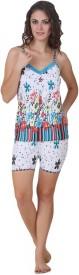 Masha Women's Floral Print Top & Shorts Set