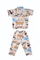 Belle Girl Baby Boy's Printed Top & Pyjama Set