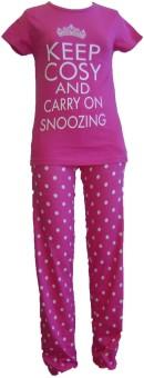 Sweet Dreamers Girl's Printed Top & Pyjama Set