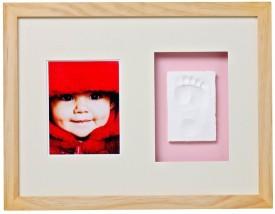 Baby Memory Print Wood Photo Frame