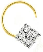 Gunjan Diamond Diamond Yellow Gold Plated Yellow Gold Nose Ring