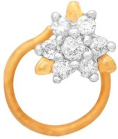 Nakshatra Designer Diamond 18K Yellow Gold Plated Gold Nose Stud - NRSEBGPFRFZ5GCEK