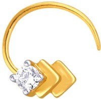 Nakshatra Designer Diamond 18K Yellow Gold Plated Gold Nose Stud - NRSEBMQ8VAYHGFGK