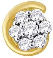 Nakshatra Diamond Yellow Gold Nose Stud - NRSE57ZSWBAHTGGJ