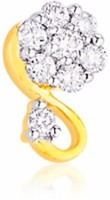 Nakshatra Designer Diamond 18K Yellow Gold Plated Gold Nose Stud - NRSEBMQ8MPYGKPTP