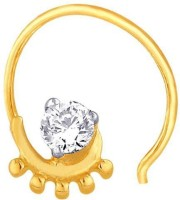 Nakshatra Designer Diamond 18K Yellow Gold Plated Gold Nose Stud - NRSEBGPF2KY43RN2