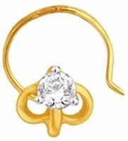 Nakshatra Diamond Yellow Gold Nose Stud - NRSE57ZSDCWZCSQH