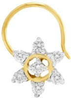 Nakshatra Designer Diamond 18K Yellow Gold Plated Gold Nose Stud - NRSEBMQ8HXT9ZUR6