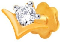 Nakshatra Diamond Yellow Gold Nose Stud - NRSE57ZS4SMRFY7T