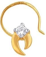 Nakshatra Diamond Yellow Gold Nose Stud - NRSE57ZSGNVYTGYH