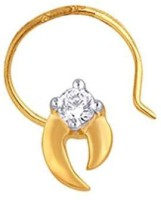 Nakshatra Designer Diamond 18K Yellow Gold Plated Gold Nose Stud - NRSEBMQ8UG922ZYG