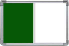 Action World Green with white Notice Board