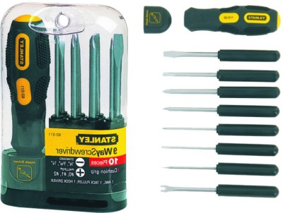Stanley Screwdriver 62-511 at Extra 5% Off from Flipkart - Rs 587