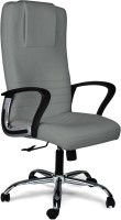 Home City Leatherette Office Chair (Brand - Grey)