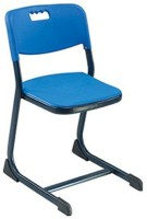 Mavi Metal Study Chair (Brand - Blue, Set Of 4)