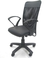 Chromecraft Fabric Office Chair (Brand - Grey)