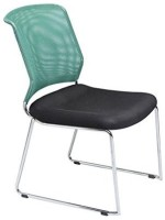 Mavi Metal Visitor Chair (Brand - Green, Set Of 4)