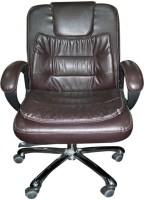 Chair Bazaar Metal Office Chair (Brand Color - Brown)