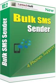Lantech Soft Bulk Sms Sender (4 Phone Support)