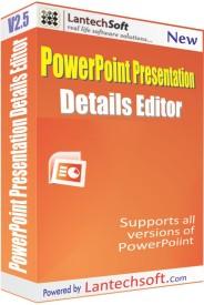LantechSoft PowerPoint Presentation Details Editor