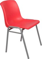 Ventura Plastic Cafeteria Chair (Finish Color - Red) - OTCEHF82PCRHZHBU
